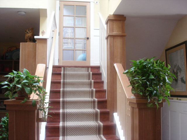 Upstairs Entrance